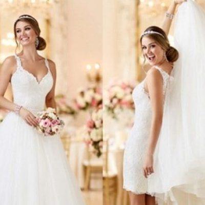 Gợi ý các mẫu áo cưới 2 trong 1 đơn giản, đẹp để cô dâu chọn lựa