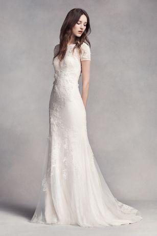 váy cưới dáng suông đẹp