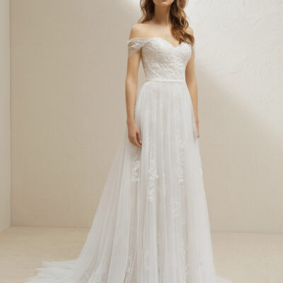 Váy cưới dáng suông – Kiểu áo cưới phong cách nhẹ nhàng, đơn giản