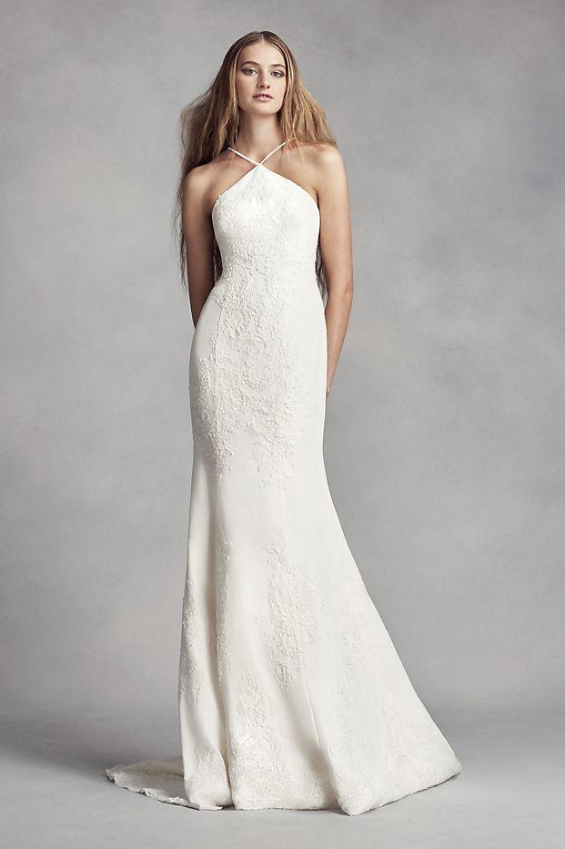 kiểu váy cưới dáng suông đẹp của Vera wang
