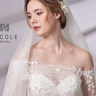 Xu hướng thời trang váy cưới 2019 – Sự lên ngôi áo cưới rớt vai