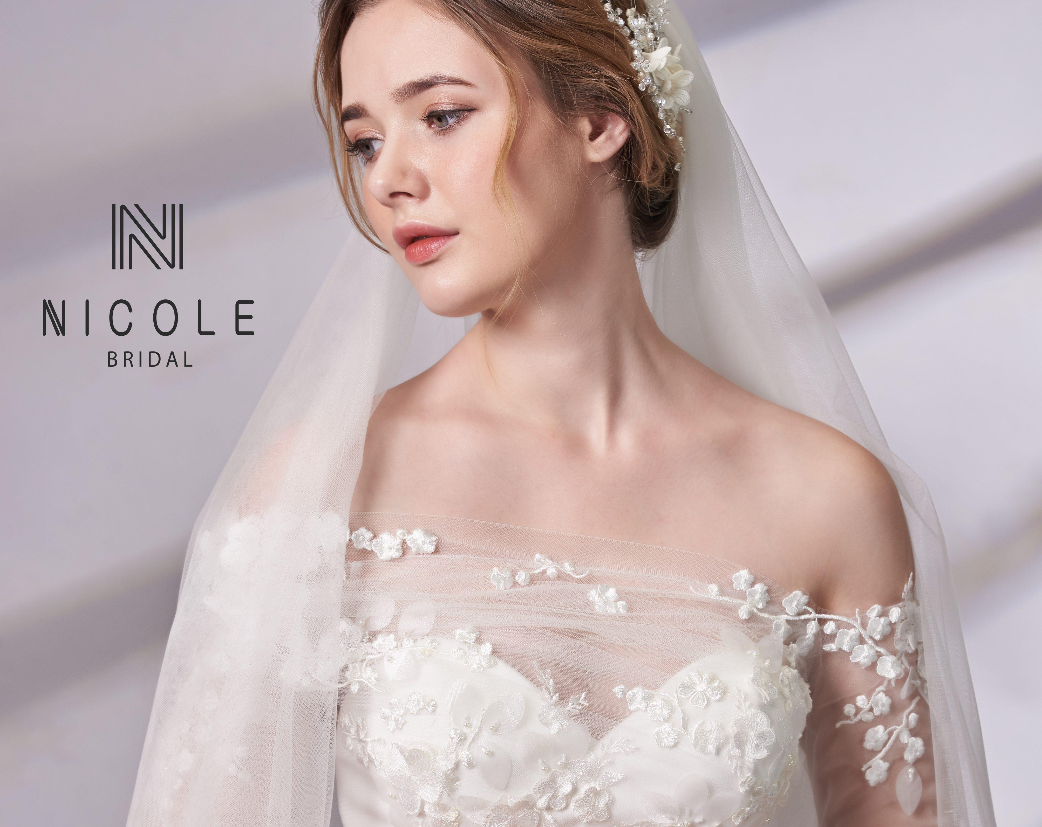 áo cưới trễ vai đẹp