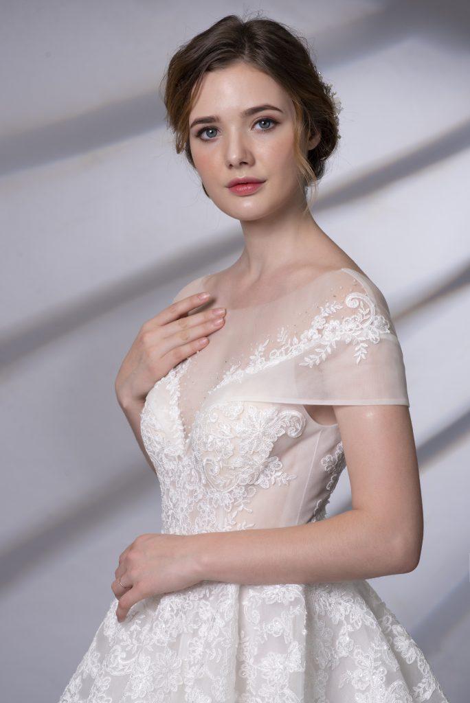 váy cưới đẹp cho cô dâu mập