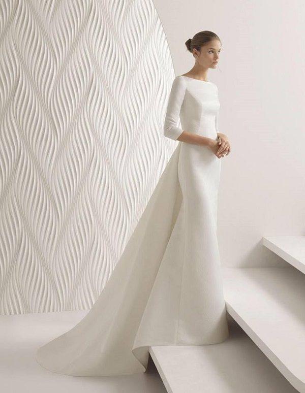 xu hướng thời trang cưới 2019