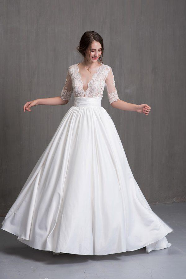 mẫu váy cưới công chúa đẹp