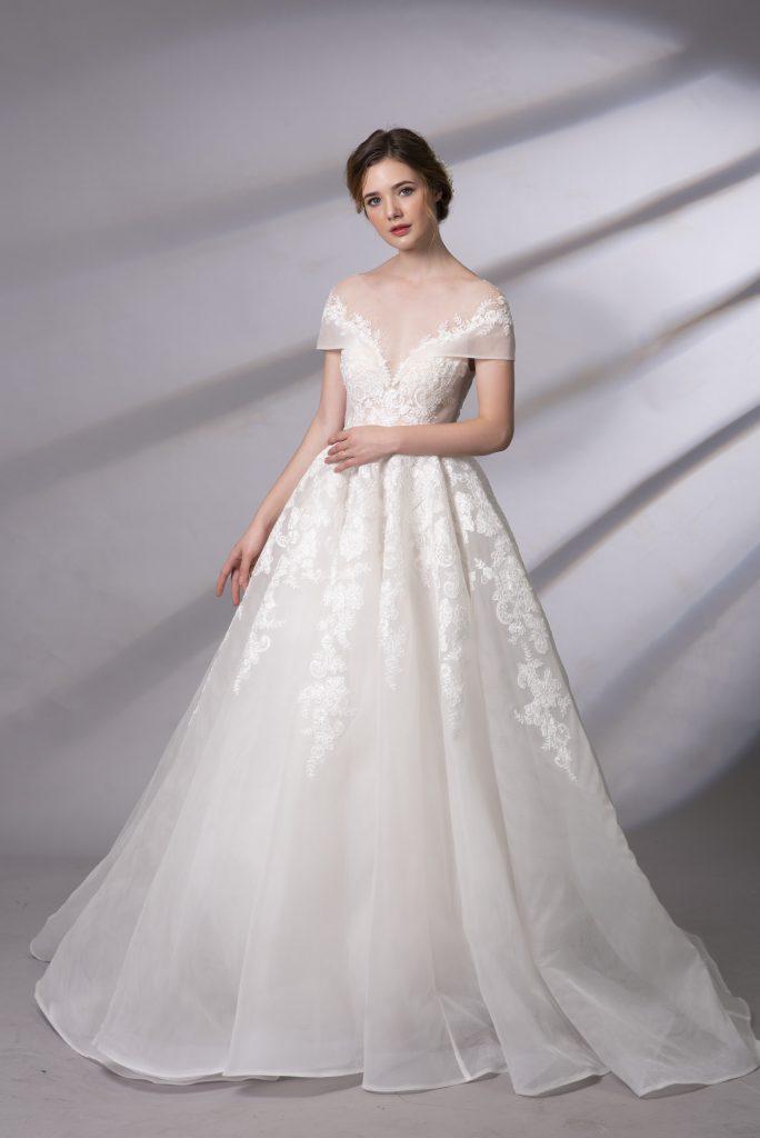 váy cưới công chúa đẹp nhất 2019