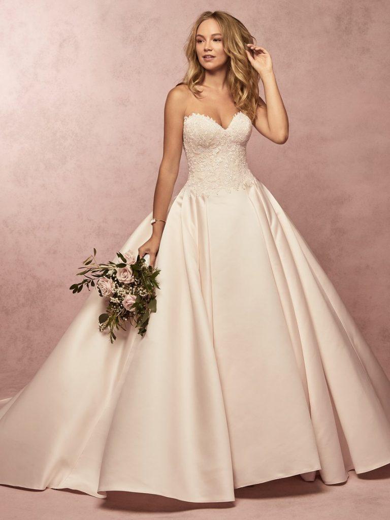 váy cưới công chúa 2019