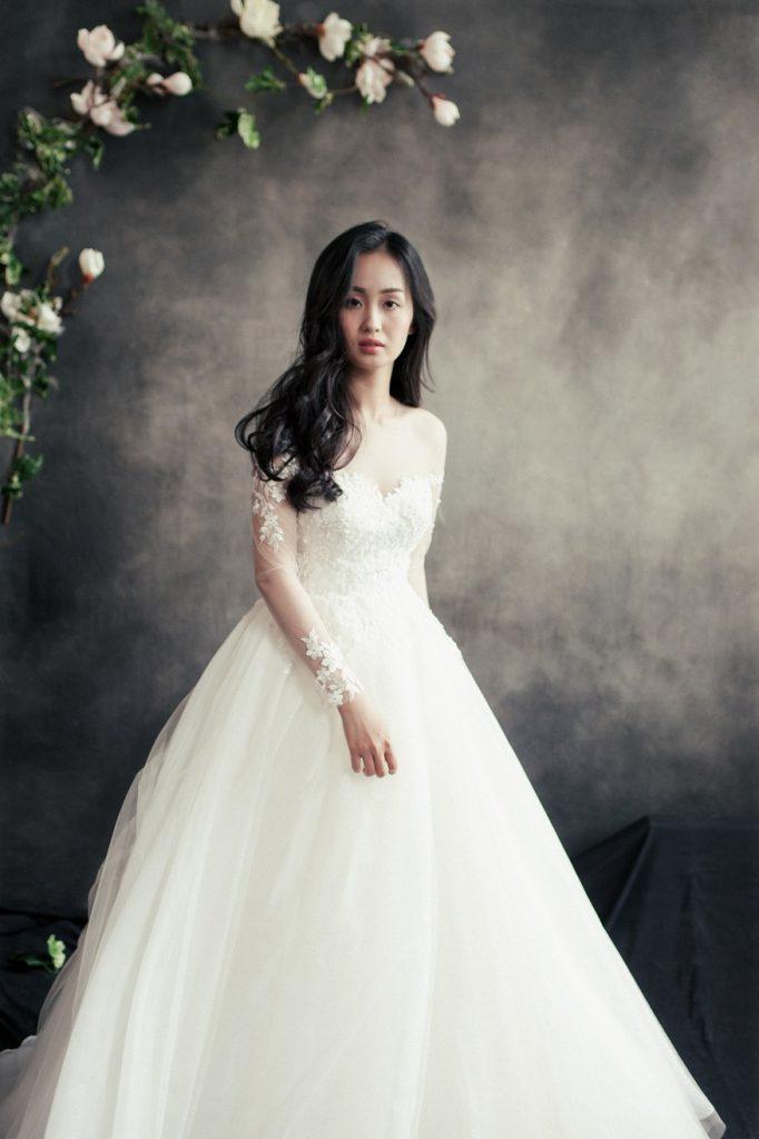 áo cưới có tay cho cô dâu mập