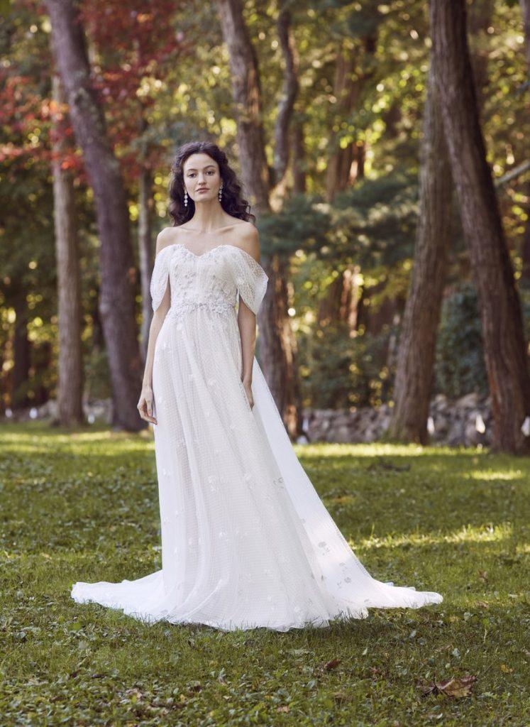 áo cưới trễ vai 2019