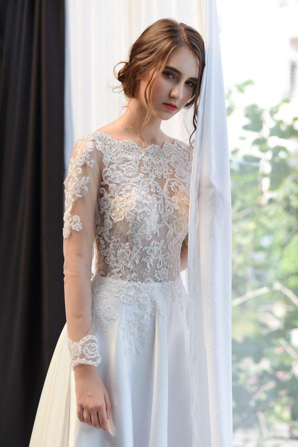 áo cưới cho cô dâu béo