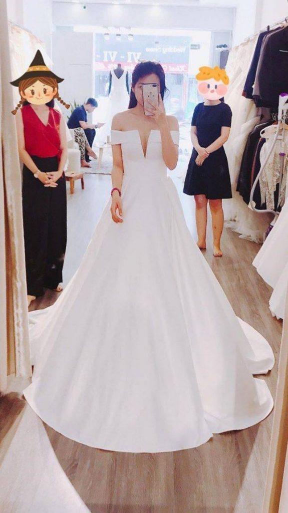 thuê váy cưới ở sài gòn