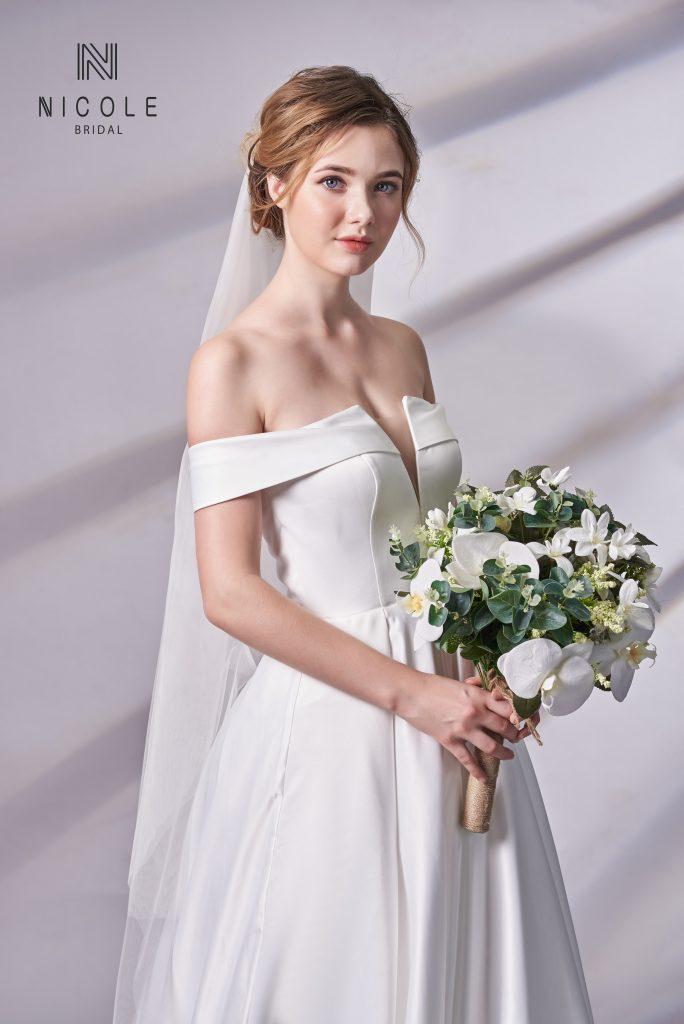 mẫu váy cưới công chúa