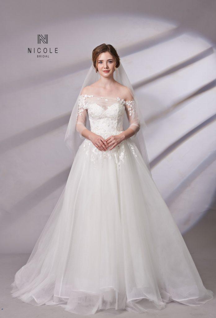 váy cưới công chúa đẹp nhất