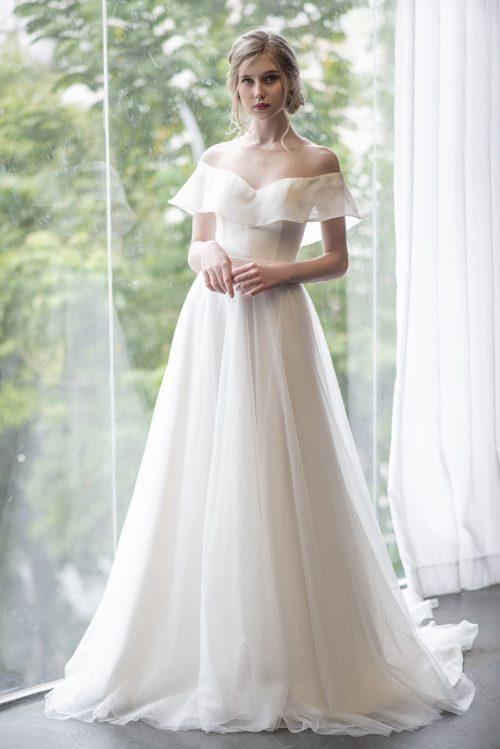 váy cưới đẹp cho mùa hè nóng