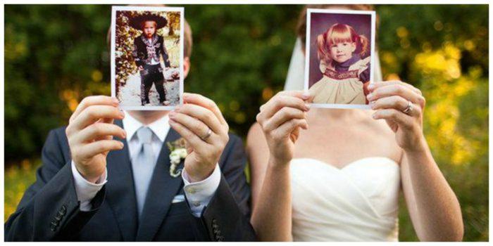 ảnh cưới để cổng độc đáo