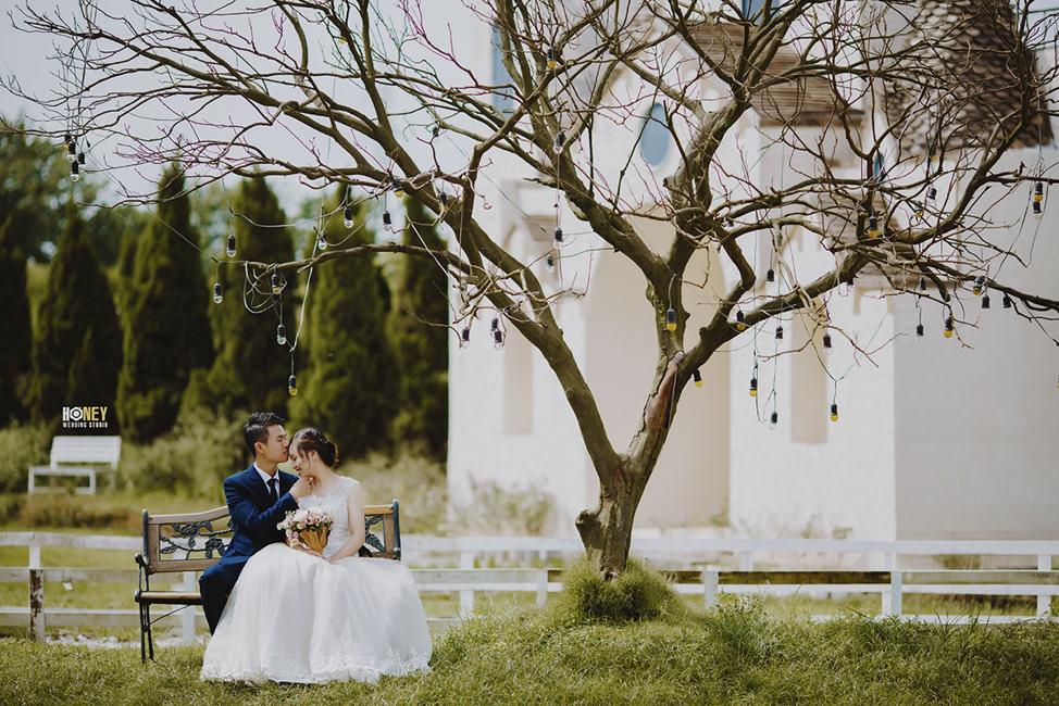 mẫu ảnh cưới để cổng đẹp