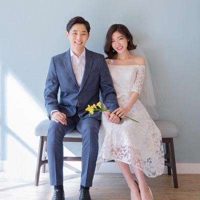 Chụp hình cưới trong Studio theo phong cách Hàn Quốc