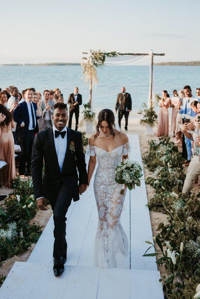 váy cưới của Shanina Shaik