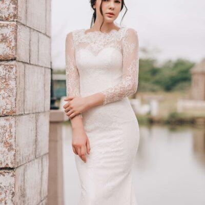 Những mẫu áo cưới dài tay đẹp nhất 2020