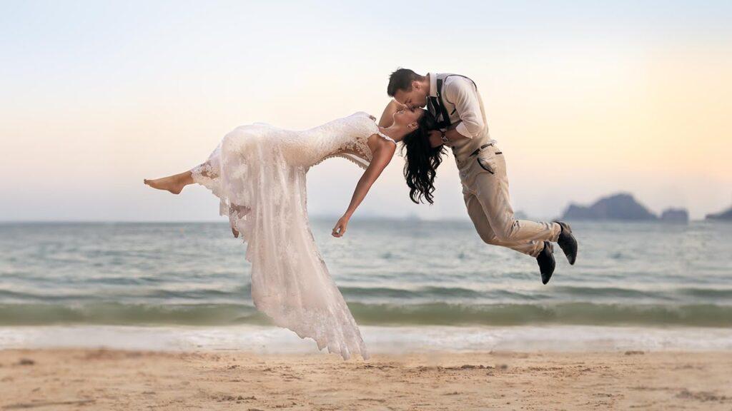 chụp ảnh cưới bay bổng