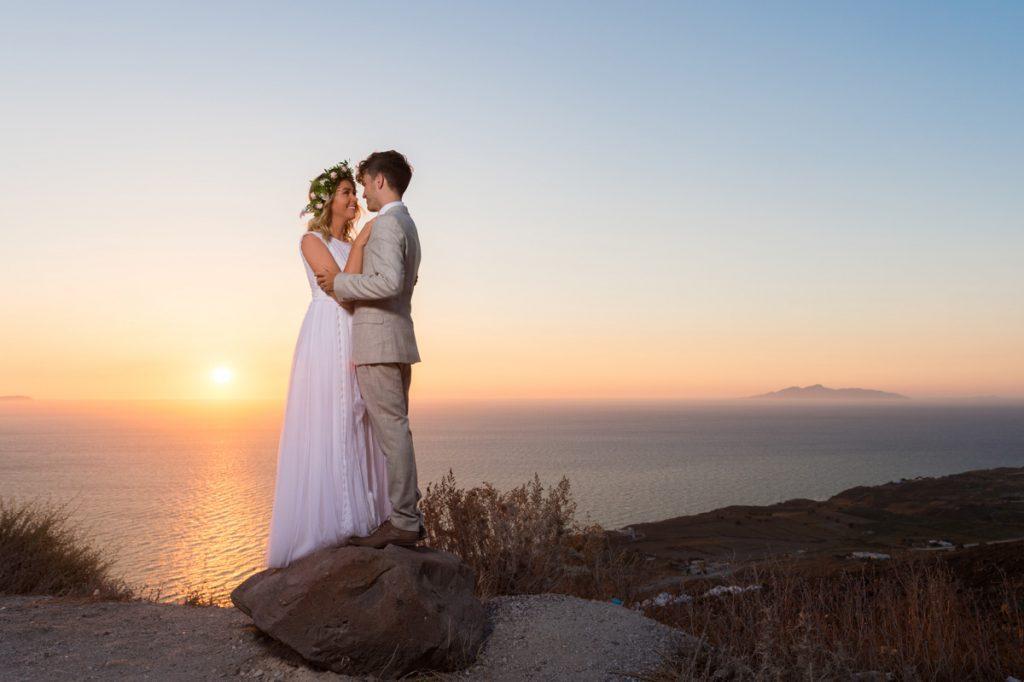 chụp ảnh cưới lúc mặt trời mọc