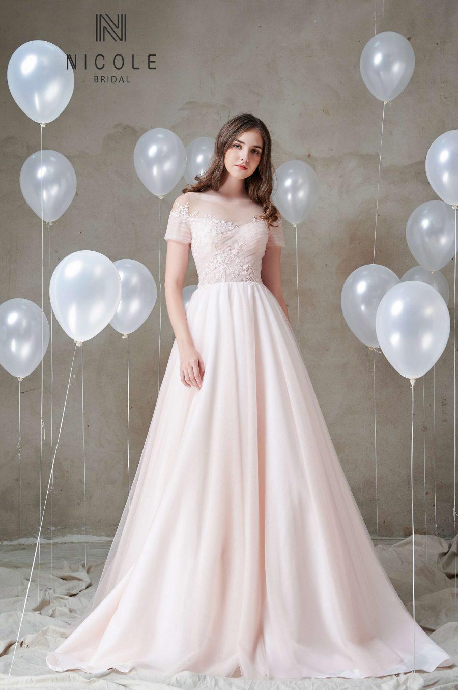 váy cưới đơn giản sang trọng