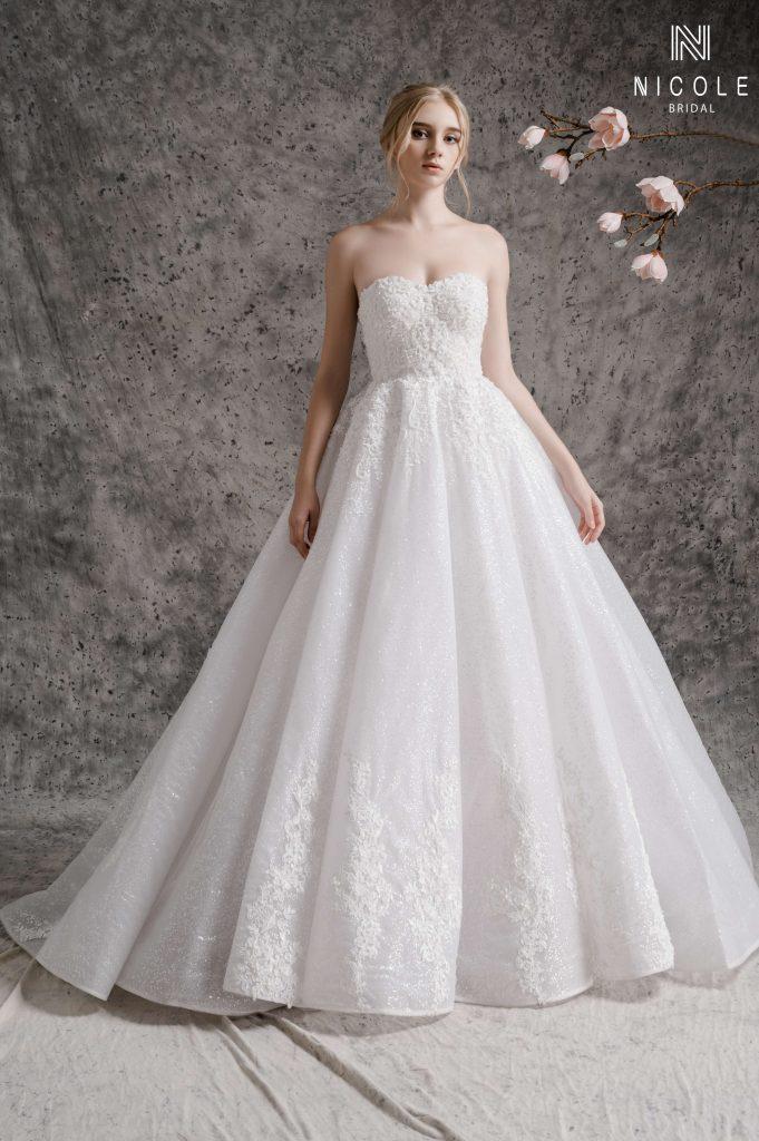 Váy cưới Luxury của team Nicole
