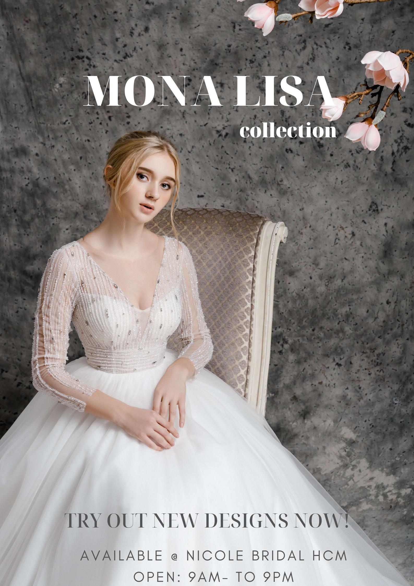 BST MONA LISA by Nicole Bridal cho mùa cưới 2019