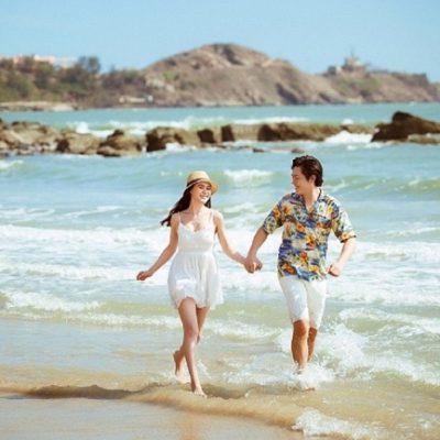 Bí quyết để chụp ảnh cưới ngoại cảnh ở biển đẹp như mơ