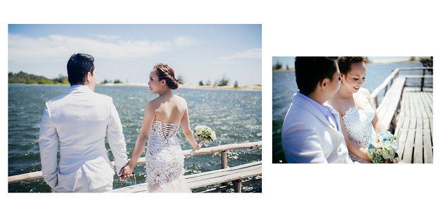 tạo dáng chụp ảnh cưới ngoại cảnh