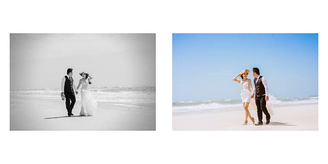 cách tạo dáng chụp ảnh cưới ngoại cảnh