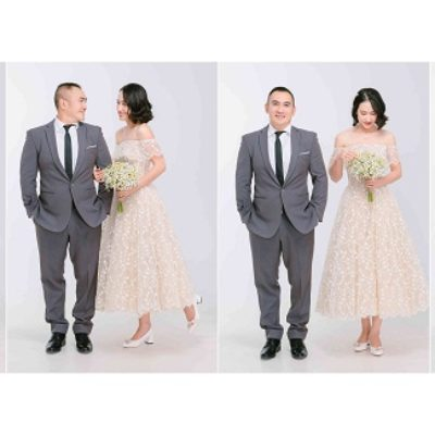 Những phong cách chụp ảnh cưới đẹp nhất trong Studio