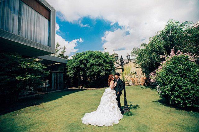 chụp cưới prewedding tại phim trường SG