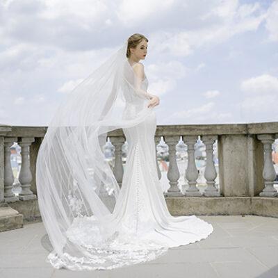 Gợi ý 20 mẫu Váy cưới đuôi cá đẹp nhất cho mùa cưới 2020