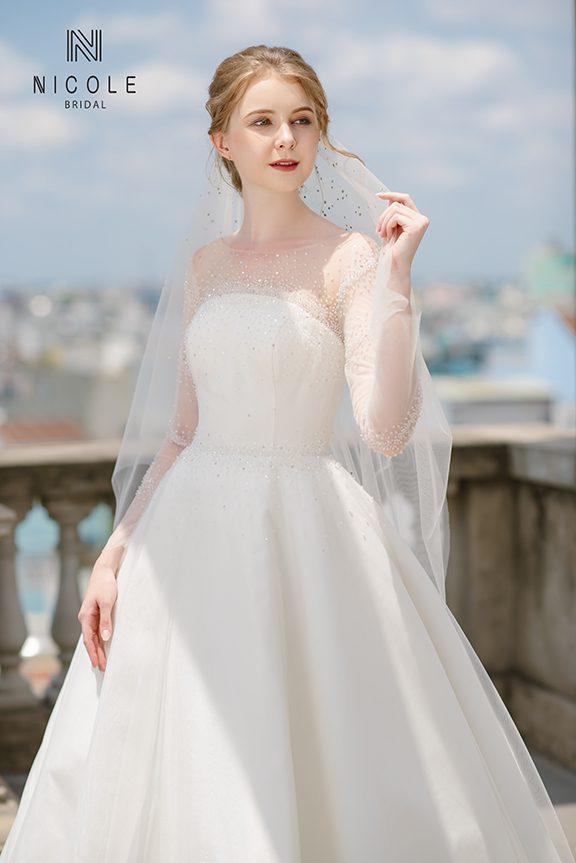 váy cưới đẹp 2020