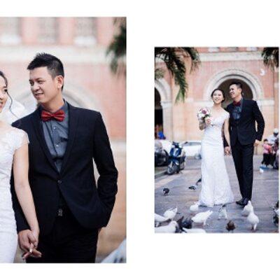 Cách chụp ảnh cưới đẹp tự nhiên, đơn giản