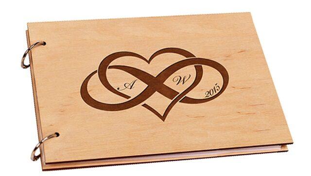 album ảnh cưới bằng gỗ