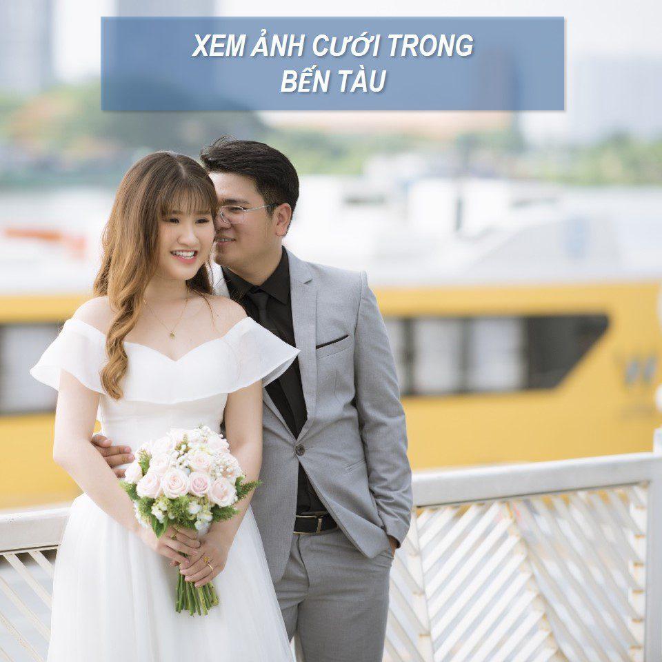 chụp ảnh cưới bến tàu tphcm