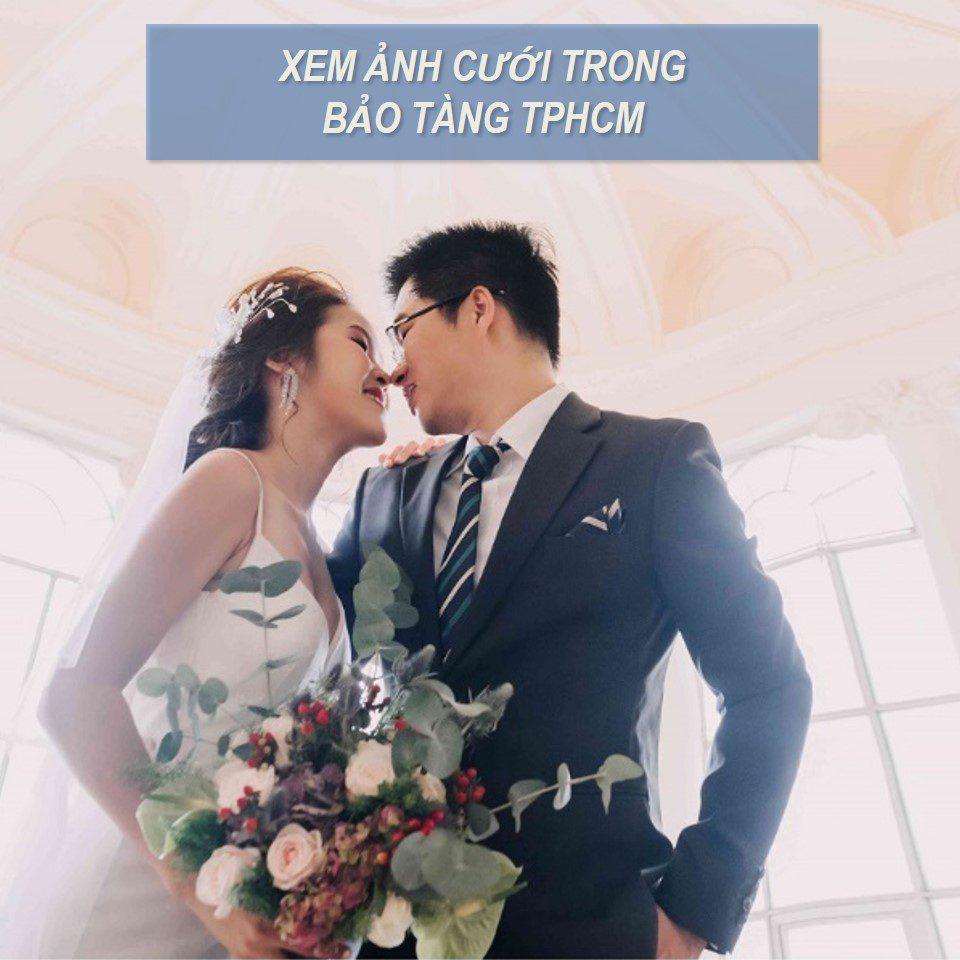 chụp ảnh cưới bảo tàng tphcm