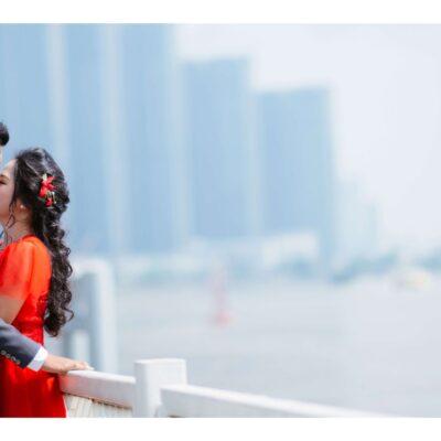 Chụp ảnh cưới bến Bạch Đằng – TP HCM