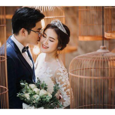 Chụp ảnh cưới ở phim trường Endee