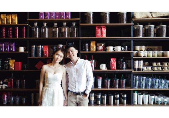 Chụp ảnh cưới ở phim trường JEJU