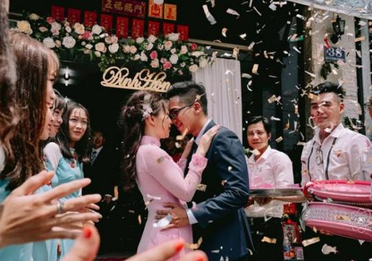 quay phóng sự cưới truyền thống