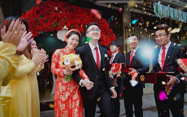 quay phim cưới truyền thống