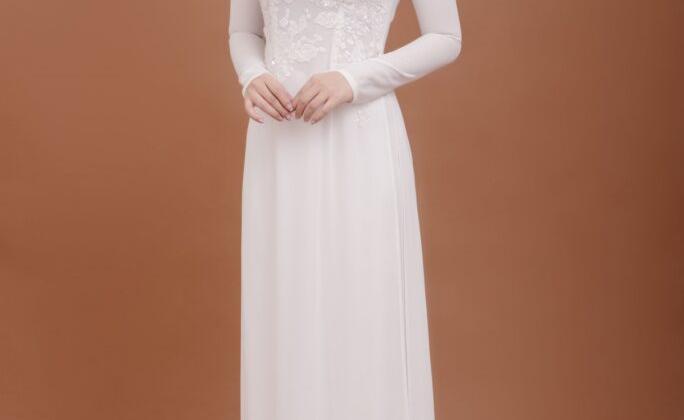 áo dài cô dâu đẹp