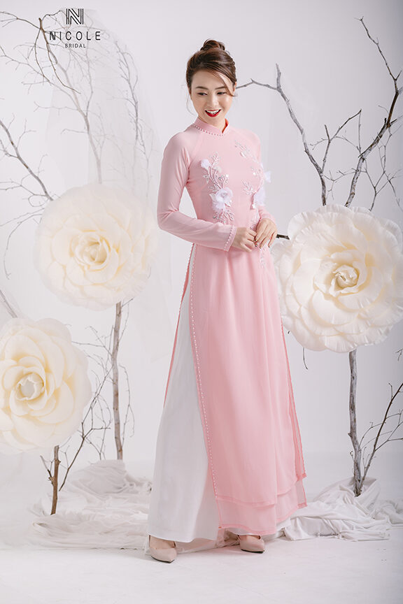 PINK WEDDING AODAI
