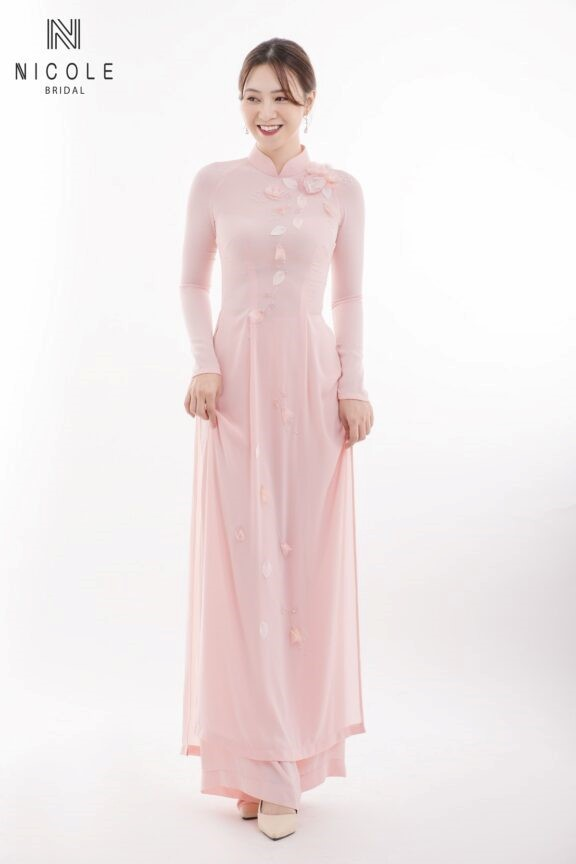 thiết kế áo dài cưới
