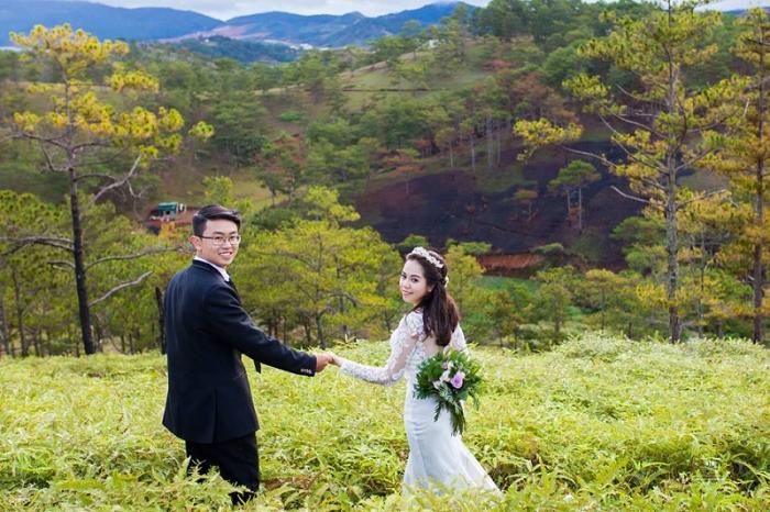 giá chụp ảnh cưới Đà Lạt