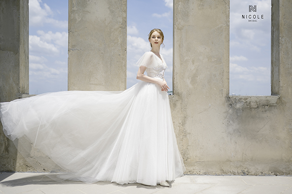 Nicole Bridal - provide you alot of dress ideas for the wedding 2021