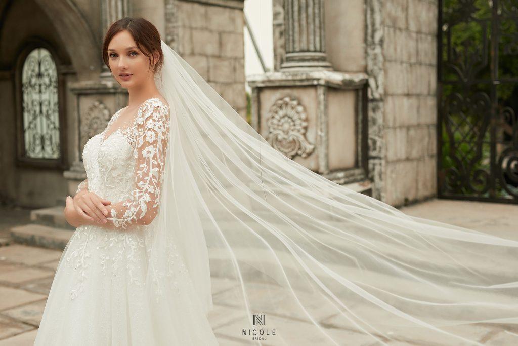 váy cưới thiết kế